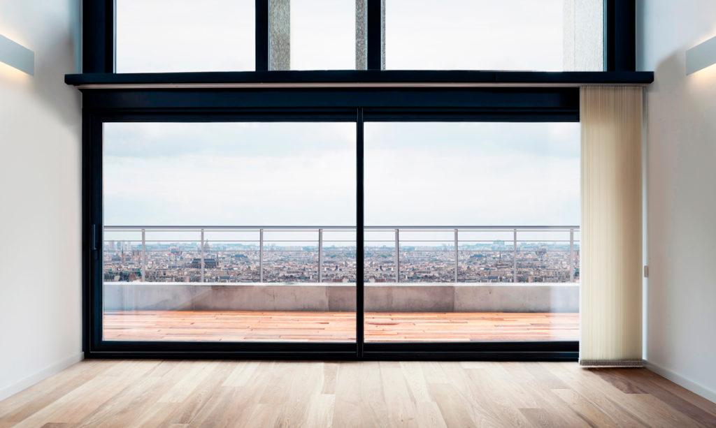 Fenêtre coulissante aluminium 6