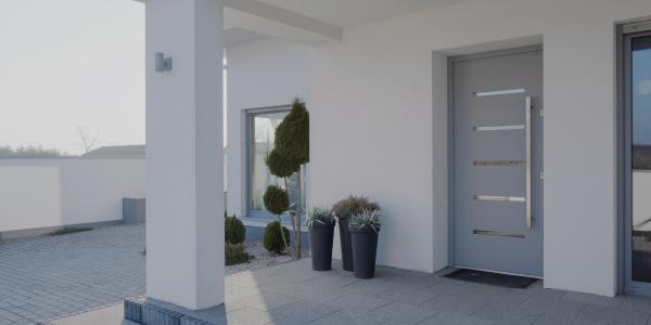 Porte Aluminium et PVC QFORT